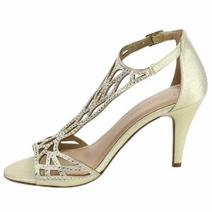 City classified Open Toe High Heel Dress Shoes